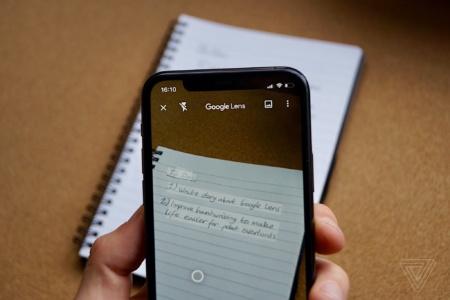 В Google Lens теперь можно скопировать рукописный текст и отправить его на ПК