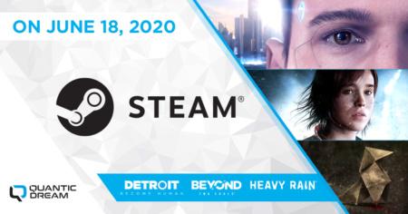 Detroit: Become Human, Heavy Rain и Beyond Two Souls выйдут в Steam 18 июня