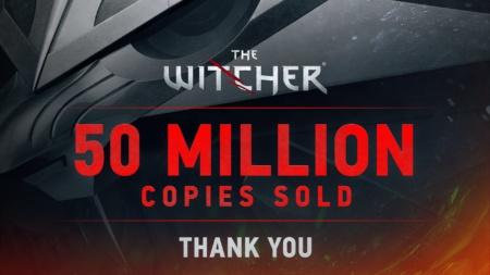 Продажи серии видеоигр «Ведьмак» достигли 50 миллионов копий