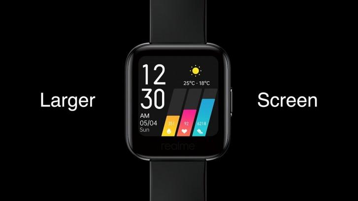 Анонсированы умные часы Realme Watch: 1,4-дюймовый дисплей, 14 спортивных режимов, 9 дней автономности и цена $53