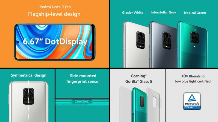 Анонсированы смартфоны Redmi Note 9 и Redmi Note 9 Pro (глобальная версия)