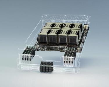 NVIDIA DGX A100 — система для ускорения ИИ-вычислений с 8 ускорителями Tesla A100, производительностью 5 петафлопс и ценой $200 тыс.
