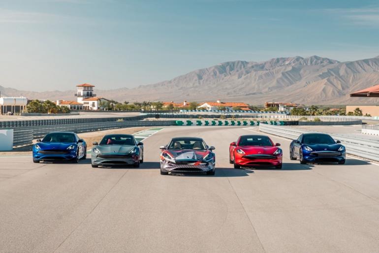 Karma начала дорожные тесты электрического спорткара с четырьмя двигателями мощностью 1100 л.с., батареей на 120 кВтч и запасом хода 640 км