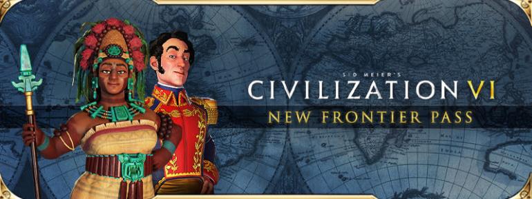 Сезонный пропуск Civilization VI - New Frontier Pass добавит в игру 8 новых цивилизаций, 9 лидеров, 6 режимов и другие материалы