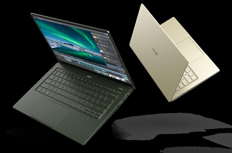Acer анонсировала новый ноутбук Swift 5 с процессорами Intel 11-го поколения и ценой от 33 тыс. грн