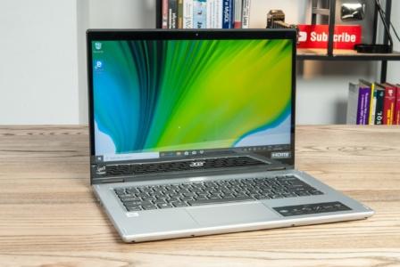 Обзор ноутбука-трансформера Acer Spin 3 (SP314-54N)