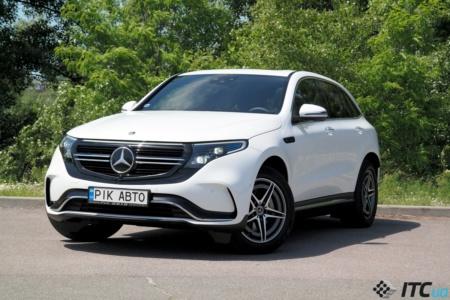 Тест-драйв электромобиля Mercedes-Benz EQC