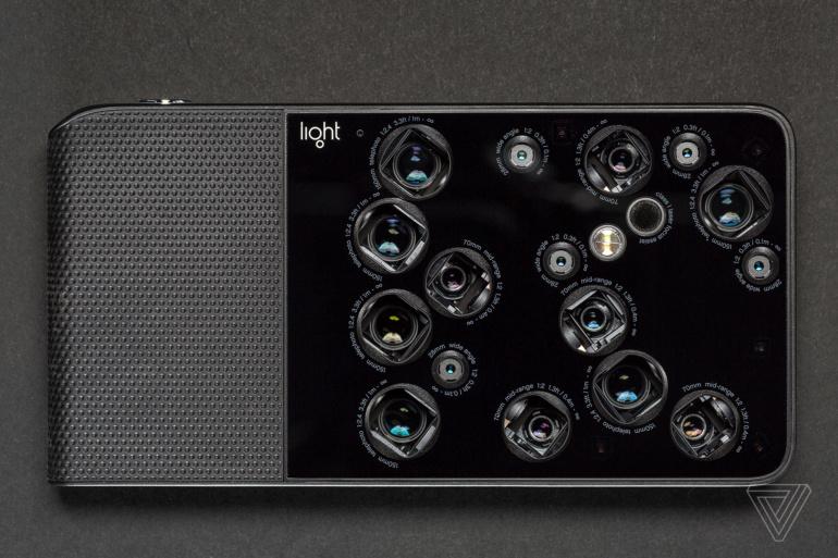 Light, создавшая камеру для Nokia 9 и компактную камеру с 16 модулями, уходит из смартфонного бизнеса