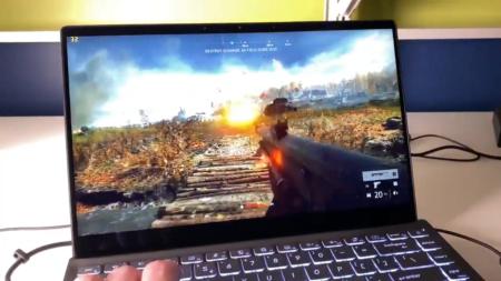 Интегрированный GPU Intel Xe Graphics позволяет запускать Battlefield V в разрешении 1080p и высокими настройками качества при частоте 30 к/с