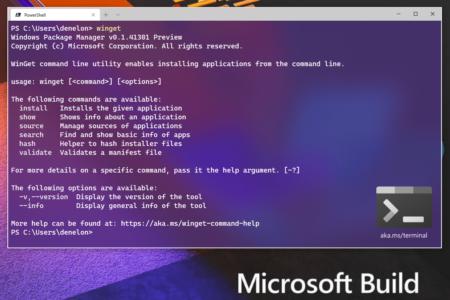 Microsoft выразила признание создателю AppGet за помощь в создании Windows Package Manager