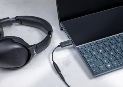В Украине начались продажи адаптера ASUS AI Noise-Canceling Mic с шумоподавлением на основе ИИ