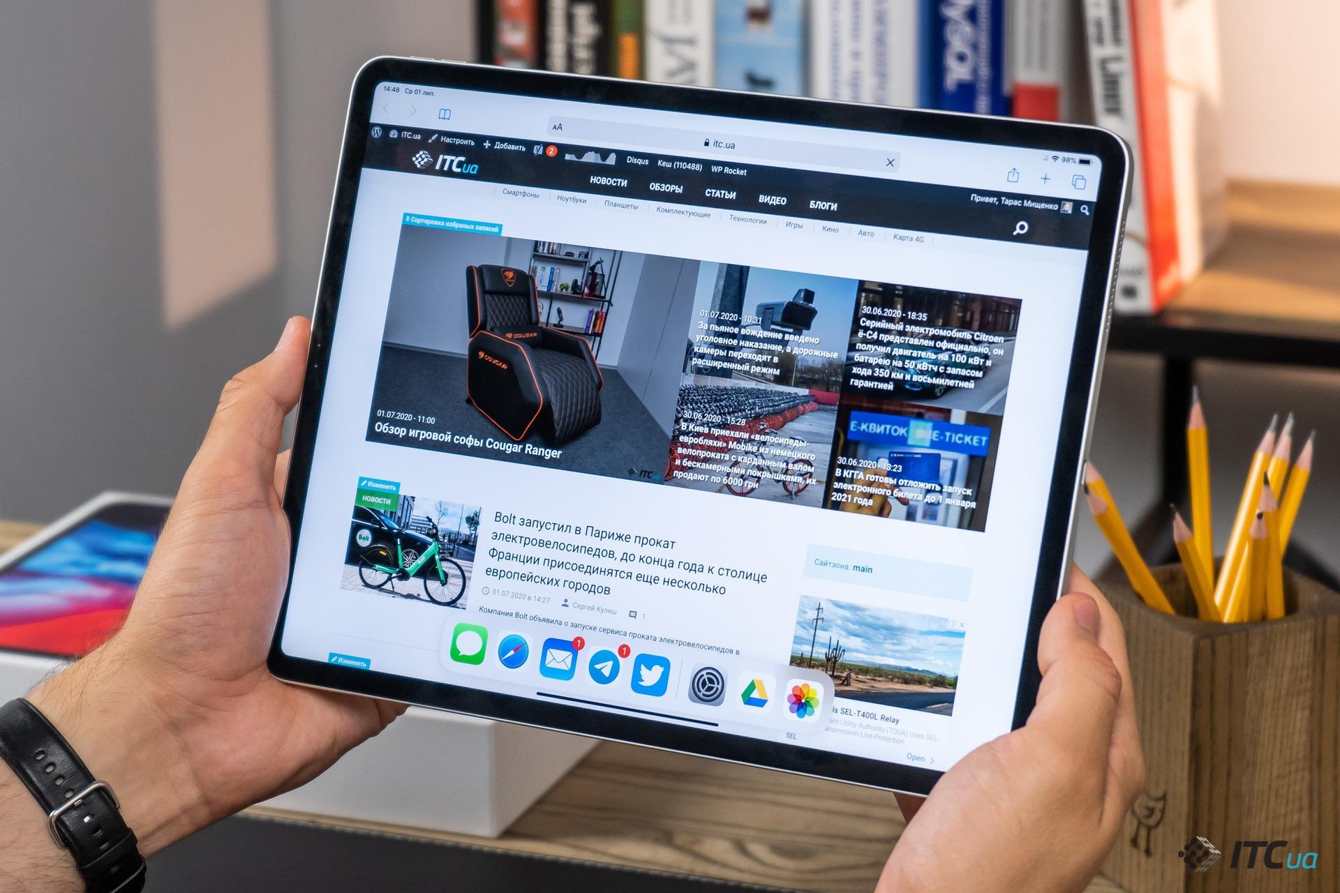 Обзор планшета iPad Pro 12.9 (4th generation)
