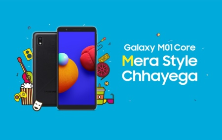 Представлен 70-долларовый смартфон Samsung Galaxy M01 Core на Android 10 Go — с 1 ГБ ОЗУ и 16 ГБ флэш-памяти