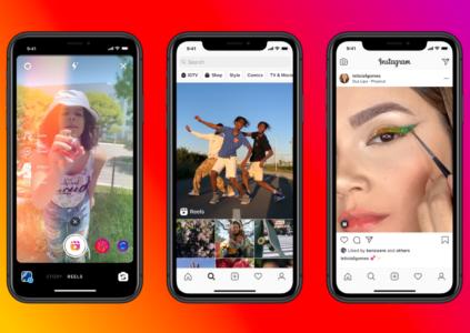 Сервис Reels – конкурент TikTok от Instagram – запустят в августе