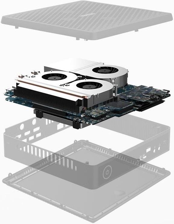 Zotac ZBox QCM7T3000 — мини-ПК на базе Intel Core i7-10750H и NVIDIA Quadro RTX 3000