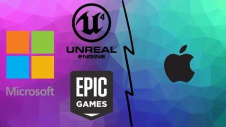 Epic Games подала еще один иск против Apple, обвинив ее в незаконном давлении на Unreal Engine. Ее поддержала Microsoft