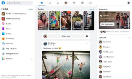 В сентябре Facebook полностью перейдёт на новый интерфейс