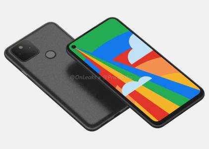 Никаких сюрпризов. Смартфон Google Pixel 5 позирует на 360-градусном видео и рендерах во всей красе