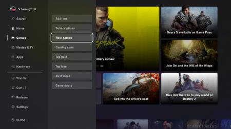 Microsoft показала новый дизайн онлайн-магазина XboxStore, который стал работать вдвое быстрее