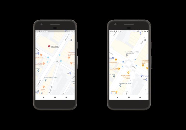 В Google Maps будет проще различать природные объекты, а улицы городов станут более детальными