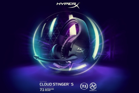 HyperX представила новые геймерские гарнитуры Cloud Stinger S и Cloud Stinger Core Wireless