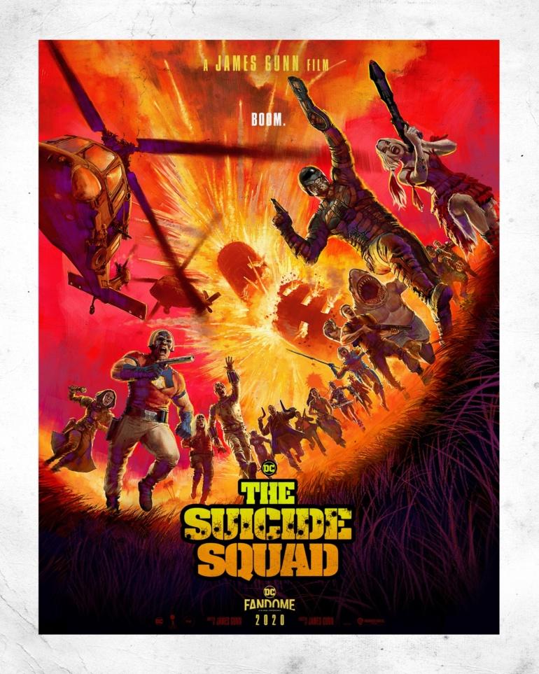Джеймс Ганн представил персонажей фильма The Suicide Squad и показал видео со съемок картины, премьера запланирована на август 2021 года