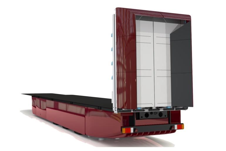 Немецкая компания Trailer Dynamics разрабатывает электрические полуприцепы Newton eTrailer с LFP-аккумуляторами CATL емкостью 300 кВтч