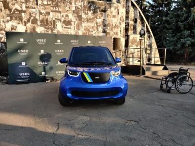 USEC — первый украинский электромобиль для людей с инвалидностью
