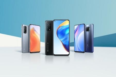 Xiaomi анонсировала Mi 10T Lite c 120-Гц экраном и Snapdragon 750G за €279, а также Mi 10T и Mi 10T Pro с 144-Гц экранами и Snapdragon 865 — за €499 и €599