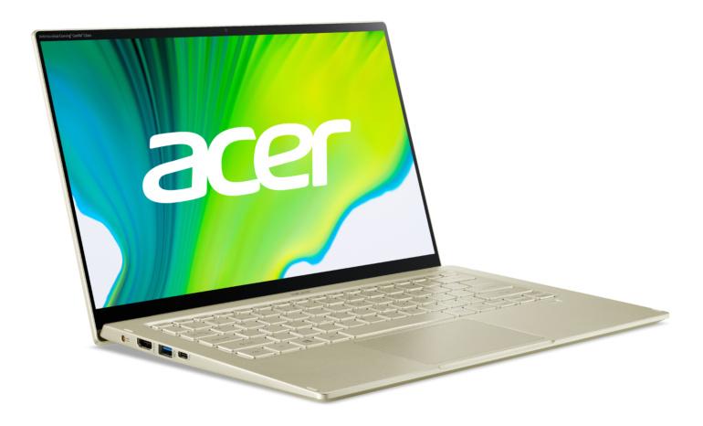 Acer обновила ноутбуки Swift 3 и Swift 5 процессорами Intel 11-го поколения