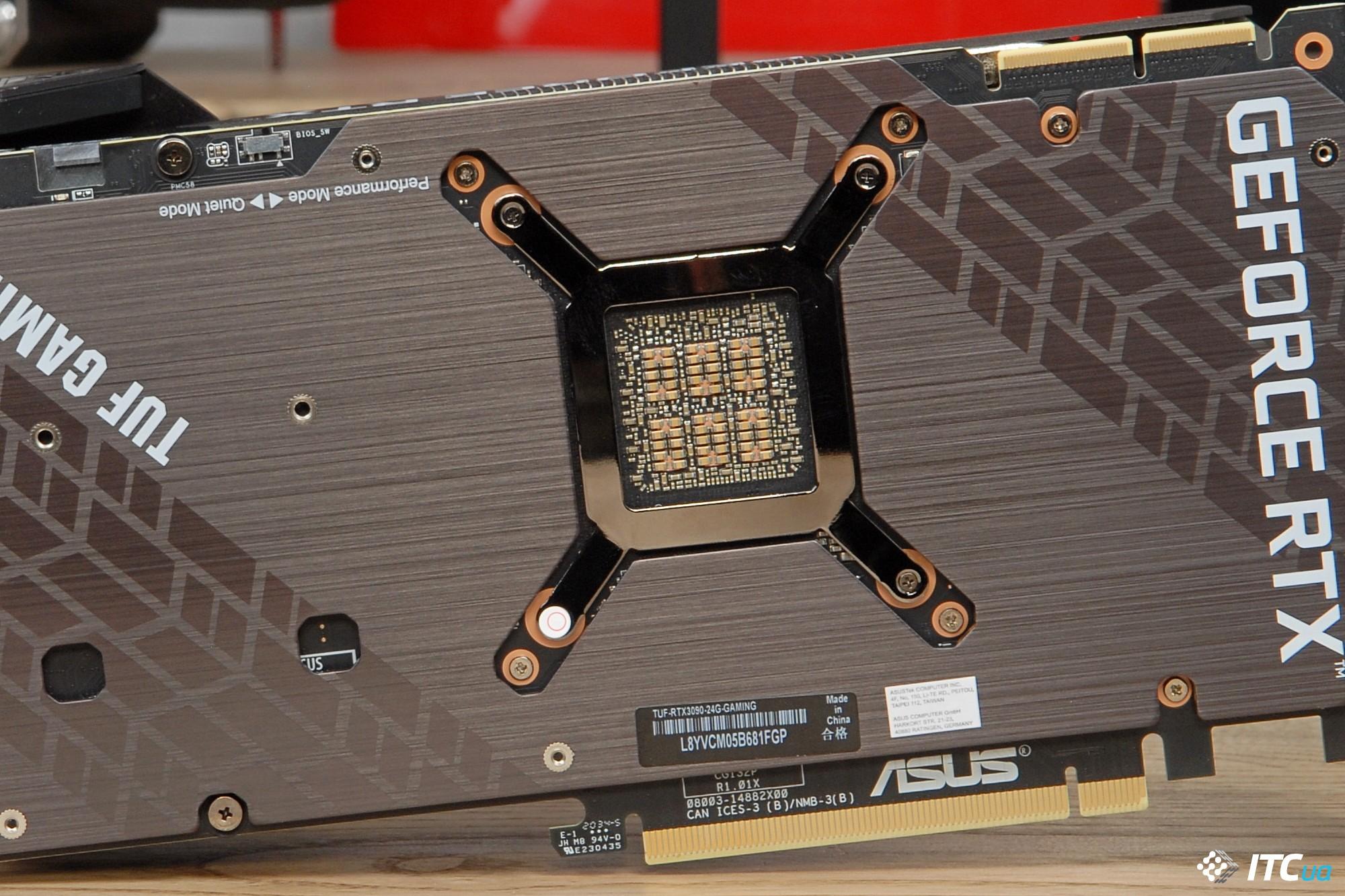 ASUS TUF RTX 3090 capacitors