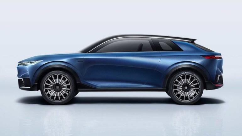 Японцы представили электрокроссовер Honda SUV e:concept, который демонстрирует направление дизайна грядущих электромобилей бренда