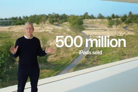 Apple продала более 500 млн планшетов iPad за 10 лет