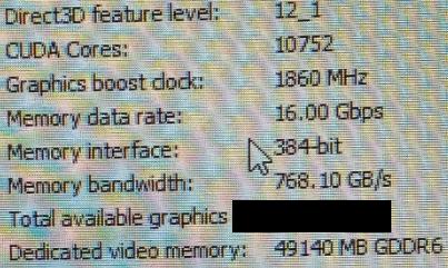 Видеокарта NVIDIA Quadro RTX следующего поколения (на базе архитектуры Ampere) получит 10752 CUDA ядра