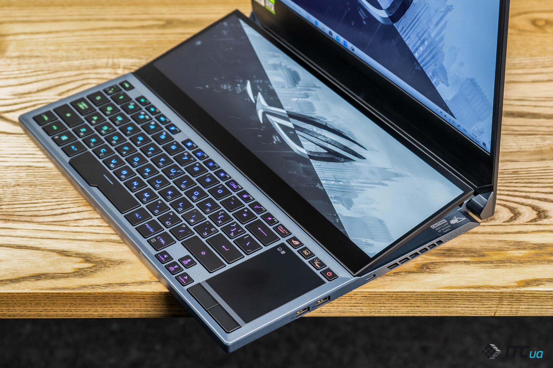 Обзор игрового ноутбука с двумя экранами ASUS ROG Zephyrus Duo 15