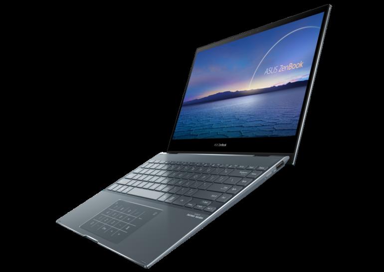 ASUS обновила линейку ноутбуков ZenBook процессорами Intel Core 11-го поколения