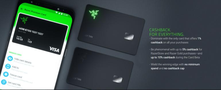 Razer Card — теперь платежная карта есть и у Razer (само собой, с подсветкой)