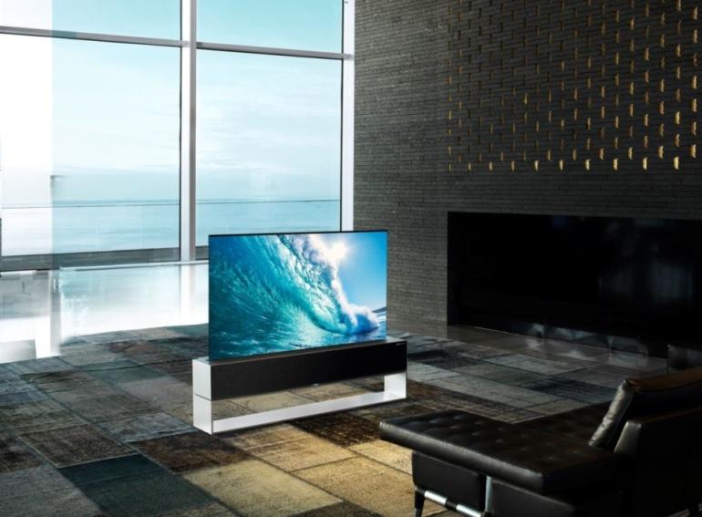 LG приступила к продажам своего сворачиваемого 4K OLED телевизора по цене $87 тыс.