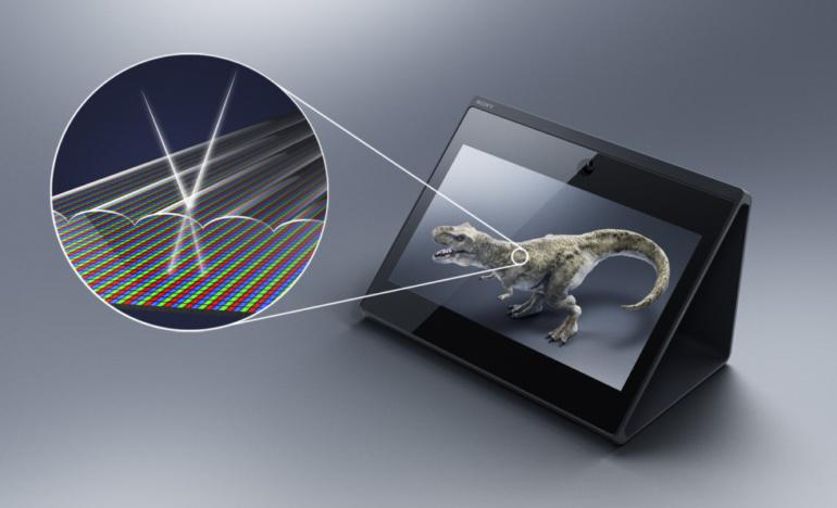 Sony создала 3D-дисплей Spatial Reality Display, позволяющий просматривать трёхмерные объекты без очков