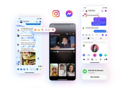 Facebook Messenger получил обновлённый логотип и ряд новых функций