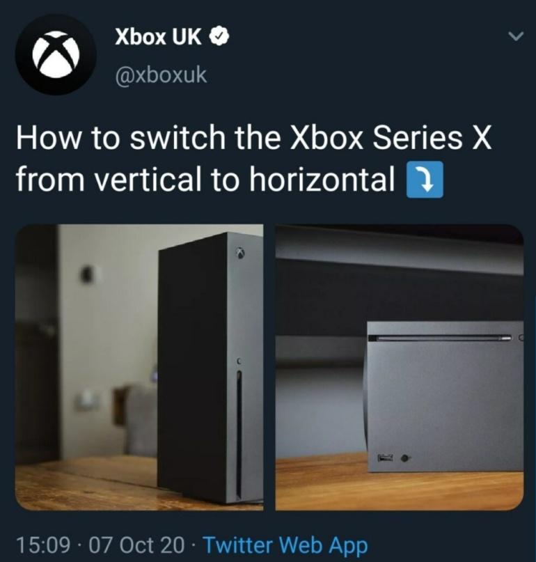 Sony показала видео разборки PlayStation 5, Microsoft потроллила слишком сложный процесс смены ориентации консоли