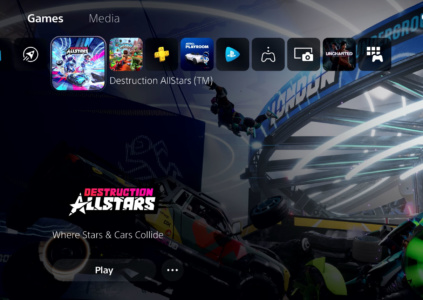 Sony показала на видео новый пользовательский интерфейс консоли PlayStation 5
