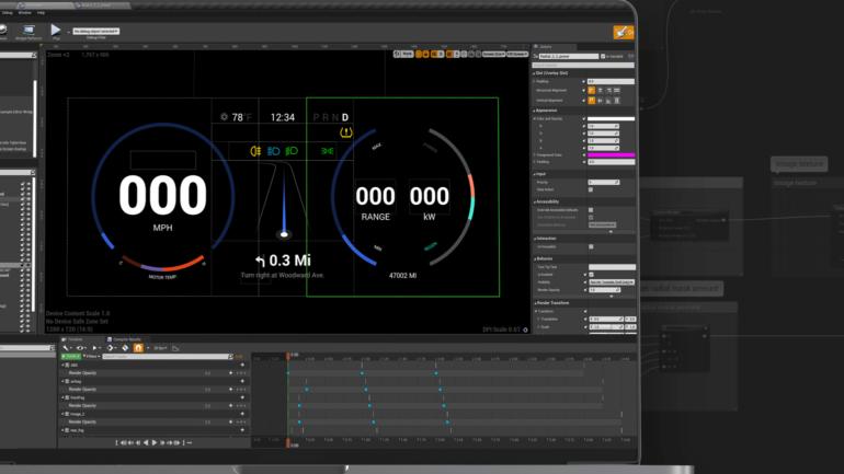 Электропикап GMC Hummer EV получит интерфейс на основе игрового движка Unreal Engine [видео]