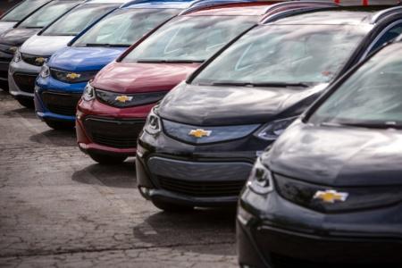 General Motors отзывает почти 70 тыс. электромобилей Chevrolet Bolt из-за риска возгорания батарей