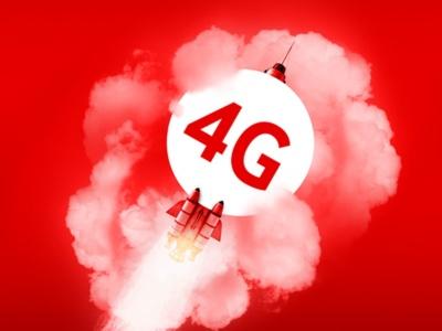 За последний месяц Vodafone запустил 4G в диапазоне LTE 900 МГц в Харьковской, Кировоградской, Сумской, Николаевской и Черниговской областях
