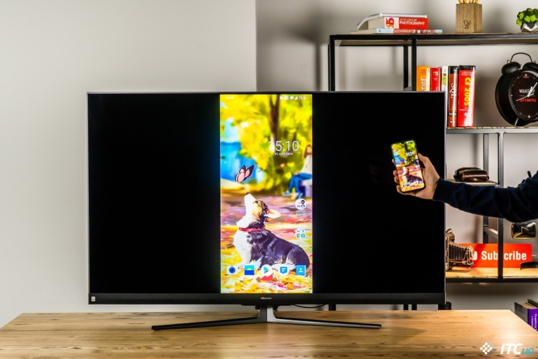 Обзор телевизора Hisense 55U8QF