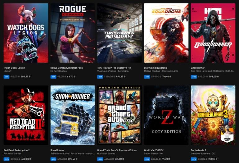 """Epic Games Store запустил распродажу """"Черной пятницы"""" и бесплатную раздачу симулятора бездорожья MudRunner"""