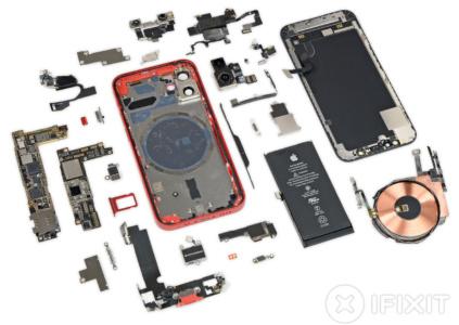 В iFixit разобрали iPhone 12 mini и выяснили, как удалось разместить все необходимые компоненты в компактном корпусе
