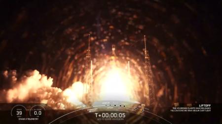 SpaceX вывела на орбиту спутник GPS III-04 для космических сил США, следующая миссия — первый эксплуатационный полет Crew Dragon (Crew-1) к МКС
