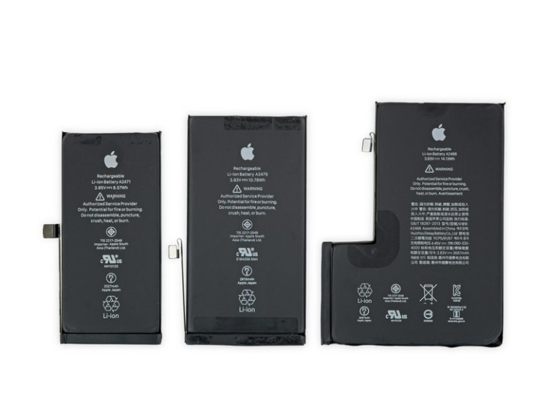 iFixit: В iPhone 12 Pro Max используется крупный модуль камеры и большая батарея